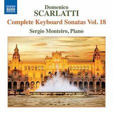 Domenico Scarlatti: Complete Keyboard Sonatas Vol 18 [New CD]