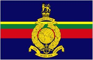 Royal Marines 5ft x 3ft FlaCommandoes British Military Army Banner - 2 Eyelets