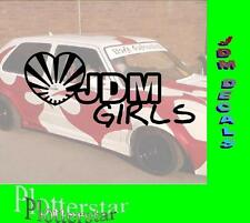 JDM Girls JDM sticker autocollant OEM power Fun like shocker