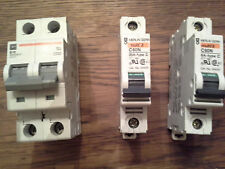 CUTTLER HAMMER AND MERLIN GERIN CIRCUIT BREAKERS WMS2B10415V & C60N