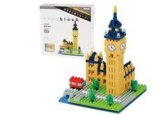 Nano blocks Big Ben puzle con mini ladrillos Nanoblock gran regalo