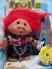 """ROCKER - 5"""" DAM Troll Doll - NEW IN PACKAGE - Europe Edition"""