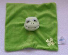 💥 Babylove FROSCH grün Blume Schmusetuch Schnuffeltuch Kuscheltuch Fingerpuppe
