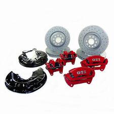 big brake VW Golf Mk7 R GTI Performance brake calipers front rear drilled rotors