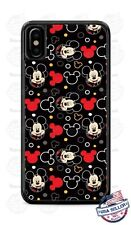 Disney Mickey Mouse Faces Collage Phone Case Cover For iPhone Samsung LG Google