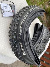 Pair Schwalbe Racing Ralph Evolution Lite skin Pace Star Tyre 57 X 700. (2.25)