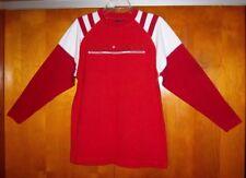 FUBU Athletic Shirt Jersey Red & White ~ Youth Unusex Size Large Long Sleeve NEW