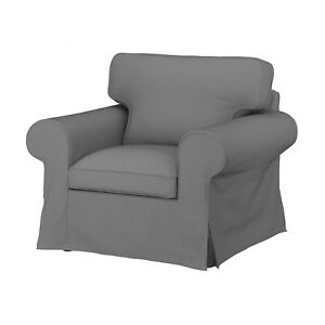 Ikea UPPLAND Cover for armchair COVER ONLY, remmarn light gray - NEW