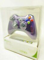 Genuine Microsoft Xbox 360 Purple Chrome Series Wireless Controller with D Pad