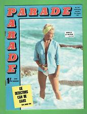 #PP.  BRITISH PARADE MAGAZINE #1341  21st August 1965, MIRELLE LE MAYEUR COVER