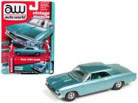 1966 Chevrolet Chevelle SS 1:64 Diecast Model Turquoise - Autoworld - AWSP012*