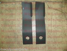 Set of 2 Replacement Bush Hog 67743 Rotary Cutter Blades,Fits 268 & 1268 LH Side