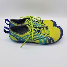 Merrell Vapor Glove Womens Size 8 Trail Running Shoes J06240 Athletic Green
