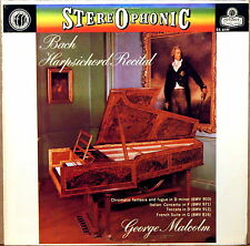 LONDON ffrr UK JS Bach GEORGE MALCOLM Harpsichord Recital CS-6197