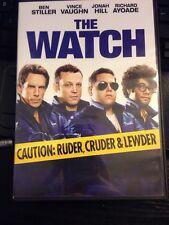 The Watch (DVD, 2012) Ben Stiller, Vince Vaughn, Jonah Hill, Richard Ayoade