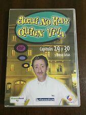 AQUI NO HAY QUIEN VIVA CAPS 29 & 30+ TOMAS FALSAS DVD15 - 120MIN - DESCATALOGADO
