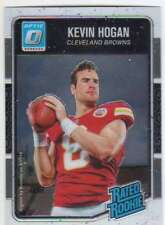 2016 Donruss Optic Football Rated Rookies #182 Kevin Hogan Chiefs