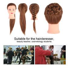 Professional Mannequin Head Hairdresser Training Practicing Doll Head Salon MR