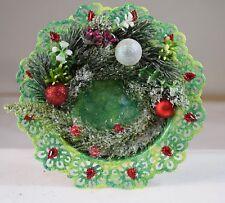 Ausgefallener Kerzenteller, Kerzenteller,Weihnachten,Weihnachtsgesteck,künstlich