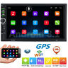 7'' Android 8.1 4G WiFi Double 2Din Car Radio Stereo GPS Navi Multimedia Player