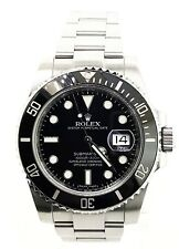 Rolex Submariner Stainless Steel rotatable Bezel 40mm Watch BOX & PAPER - W5529