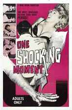 One Shocking Moment Poster 01 A2 Box Canvas Print