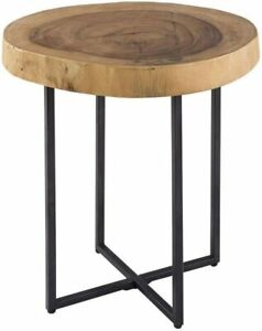 INKplusIVY End Table1 Accent TableDia 16 x 21HItem Weight13 lbs Natural