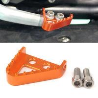 CNC Enlarge Rear Brake Step Plate Pedal Lever Tip for 125-530CC KTM 690 950 990