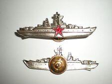 ORIGINAL SOVIET NAVY SURFACE SHIP COMMANDER BADGE