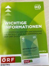 ORF HD Karte Freigeschaltet bis 11/2025
