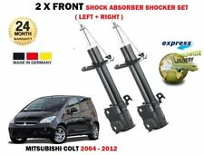FOR MITSUBISHI COLT 1.1 1.3 1.5 DiD 2004-2012 FRONT LEFT + RIGHT SHOCK ABSORBERS