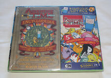 Adventure Time Righteous Gift Pack Encyclopaedia + 5 Books In 1 New