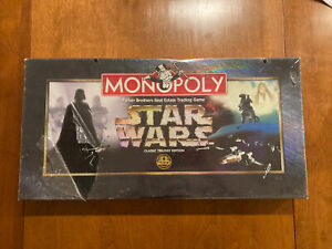 Monopoly - Star Wars  Classic Trilogy Edition 20th Anniversary 1997 NEW SEALED