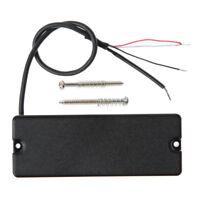 5 String Guitar Bass Soapbar Humbucker Pickup For Electric Parts Black