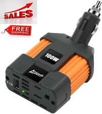 Car Inverter Converter Adapter 12V To 110V Plug Power Outlet Cigarette Lighter