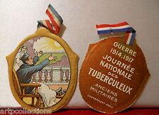 INSIGNE JOURNÉE GUERRE 1914 1918 JOURNEE TUBERCULEUX