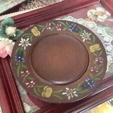 Vintage Wooden Rotating Music Plate, Cuendet Swiss Musical Movement, Dr. Zhivago