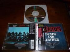 Saxon / Denim And Leather JAPAN TOCP-8056 BURRN 12 C3