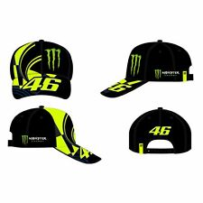 VR46 Valentino Rossi 46 Monster Adjustable Cap - Replica Black
