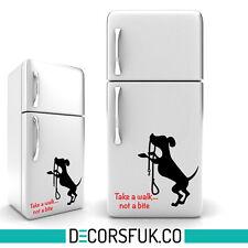 Pets réfrigérateur autocollant noir & rouge-A4/wall decor cuisine/autocollant/kids