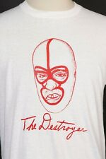 Vintage 70s DICK BEYER THE DESTROYER Wrestling T-Shirt DS NWTOS USA Mens Size XL