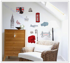 Wall Stickers London Landmarks Home Decoration Nursery Wall Stickers Shop Decal