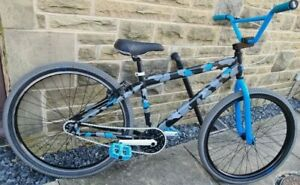 "SE BIKES Blocks Flyer Camo 26"" CAMOUFLAGE GREY BLUE CUSTOM CRUSIER BMX"