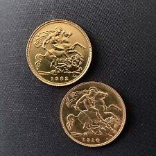 More details for 1910 + 1982 gold half soverigns 💥