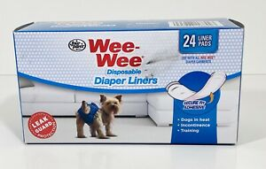 WEE-WEE DISPOSABLE DIAPER LINERS SECURE FIT ADHESIVE ( 23 LINER PADS ) 1 Missing
