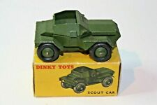 Dinky 673 Scout Car, Excellnt Condition in Original Box