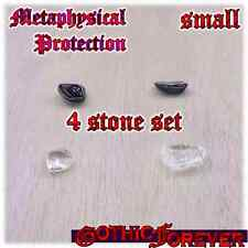 Metaphysical Protection Healing Gemstone Kit Set of 4 10mm SMALL Stones