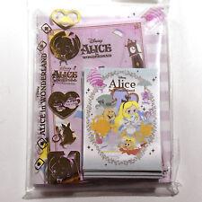 Made in Japan Alice in wonderland Mini Letter head envelope w sticker set