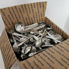 325pc Lot Mixed Stainless Flatware Silverware Catering Wedding Craft Church