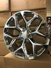 "4 NEW 2015 GMC Sierra Wheels 20x9 Chrome OE 20"" Silverado Denali Yukon Tahoe"
